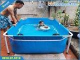Bể bơi mini KT 2.2x1.3x0.6m, bể bơi mini,bể bơi,bể bơi lắp ghép